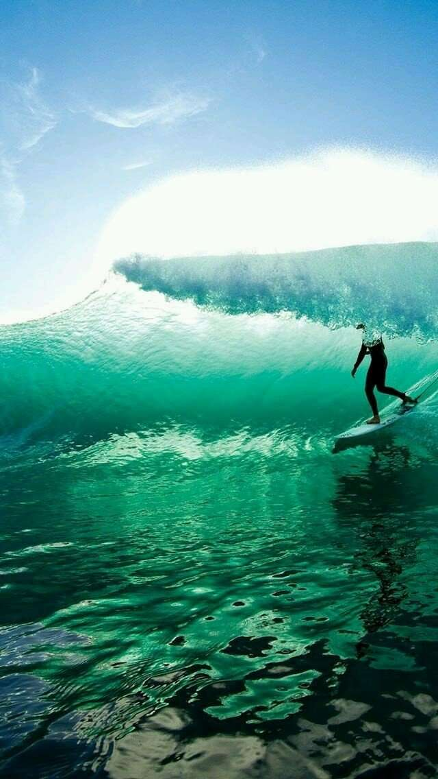 Getting barreled is THE most awesome experience on planet Earth.