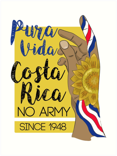 costa rica no army